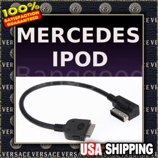 Aux Input Lead Link Cable for Mercedes Benz B 6 7 82 4527