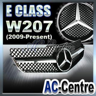 MERCEDES BENZ E CLASS FRONT GRILLE W207 A207 C207 E350 E550 AMG BLACK