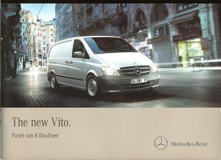 Mercedes Benz Vito Panel Van Dualiner Brochure UK 2010