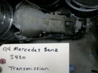 94 95 Mercedes Benz S420 Transmission