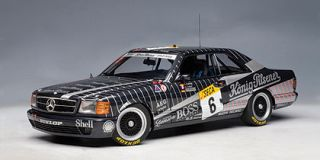 Mercedes Benz 500 Sec W126 AMG 24hrs 89 6 1 18
