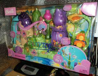 Very RARE Barbie Fairytopia Enchanted Meadow Playset