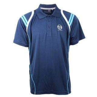 Brand New Mens Sergio Tacchini Short Sleeve Sportwear Polo Shirt s M L