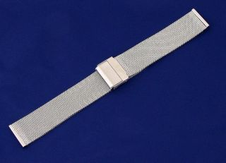 18mm Stainless Steel Mesh Watch Strap Fits Skagen Watches