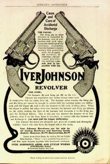1905 Iver Johnson Revolver Ad Prin