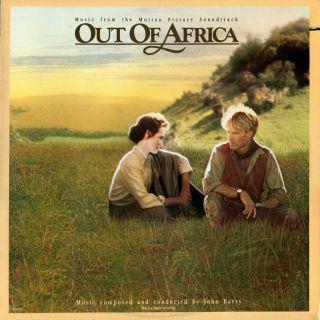 LP OST Robert Redford Meryl Streep Out of Africa John Barry