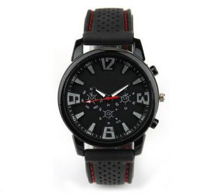 New Mens Fashion Military Pilot Aviator Army Style Silicone Sport