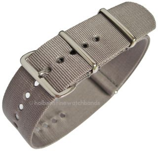 G10 Swiss Made Military Mod Nylon Mens Dive Watch Strap Band