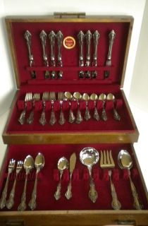Baton Rouge 70 Piece Set Box Elegant Stainless Steel Flatware