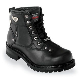 Mens Milwaukee Motorcycle Boots Outlaw