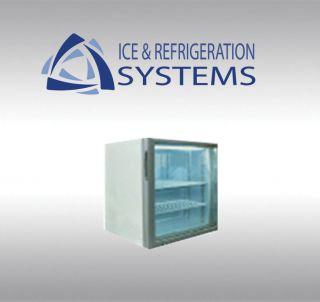 Cubic Foot Glass Door Countertop Ice Cream Freezer Merchandiser