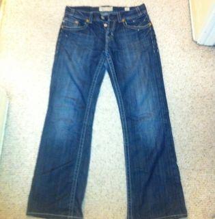 MEK Denim Mens Jeans Bologna 32x32 Dark Wash $200 Retail