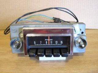 1971 Mercury Montego and Ford Fairlane Am Radio Looks Good Plays Good