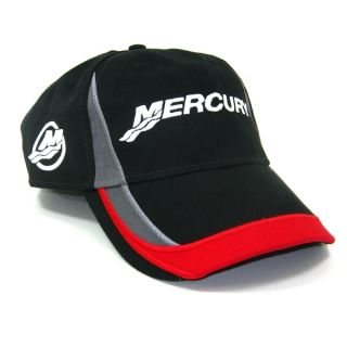 OUTBOARDS NEW FITTED UP TO 7 5/8 LARGE MERCURY RACING CAP HAT
