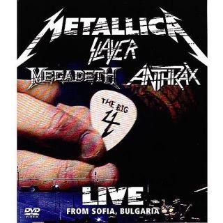 Metallica Slayer Megadeth Anthrax The Big 4 Live from Sofia Bulg DVD