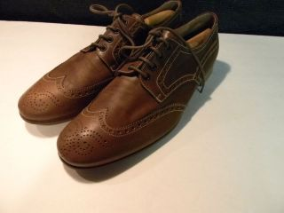 Prada Wing Tip Shoes Mens Brown Made in Italy Prada 10 US 11