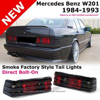 Mercedes Benz W201 190D 190E 84 93 Smoke Factory Style Rear Tail