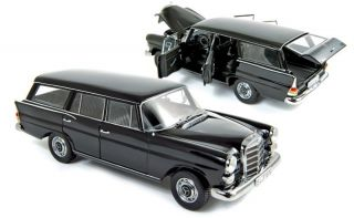 Norev 1968 Mercedes Benz 200 Kombi Universal Black Color 118**Awesome
