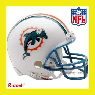 Miami Dolphins Official NFL Mini Replica Football Helmet by Riddell