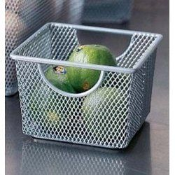 Mesh Storage Basket   Small   Set of 2   by Design Ideas   351409