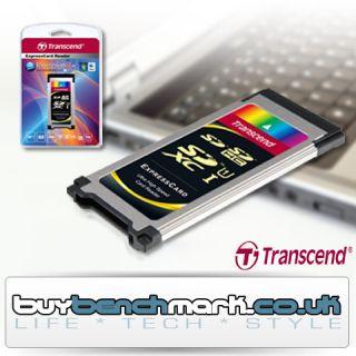 Transcend SD to ExpressCard 34 Reader Express Card Ultra High Speed SD