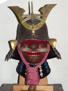 EDO MENPO mempo mask samurai armor yoroi kabuto dou sode kote haidate