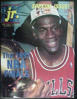 Tuff Stuff Jr Special Issue Michael Jordan 1991 Finals