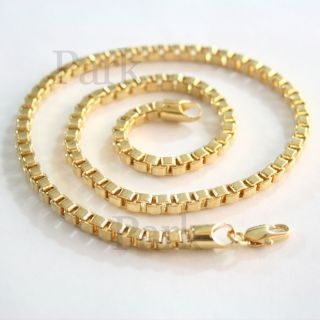 18K Gold Plated Womens Mens Necklaces Chain Fashion Jewelry Good Boy C