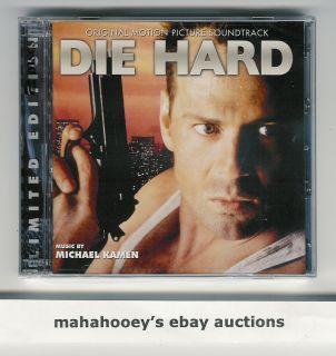 Die Hard Michael Kamen Ltd Ed of 3 500 OOP 2 CD Complete Music Score