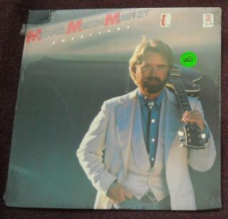 SEALED 1987 Michael Martin Murphy Americana LP Country