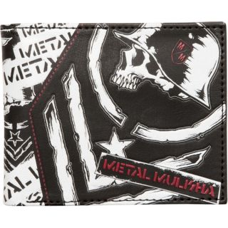 METAL MULISHA Black REQUIREMENT WALLET MENS ADULT NEW Polyurethane MX