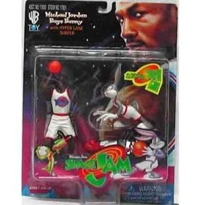 Space Jam Michael Jordan Bugs Bunny Figures Set New Warner Bros