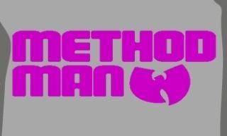Method Man T Shirt Wu Tang Clan RZA GZA RARE Ghost