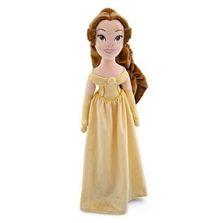 5 Princess Set 20 Plush Dolls Rapunzel Cinderella Belle