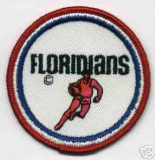 1970s Miami Floridians ABA Basketball Defunct Patch