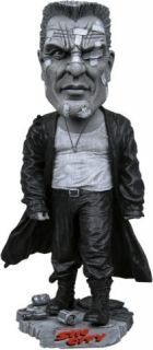 Black White Headknocker Bobble Head Figure Mickey Rourke New