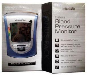 Microlife Deluxe Blood Pressure Monitor USA Seller