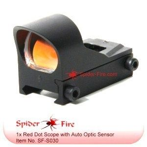 Mico Tactical Auto Brightness Red Dot Reflex Sight Scope S030