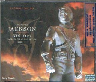 MICHAEL JACKSON, HISTORY . GREATEST HITS. FACTORY SEALED 2 CD SET. In