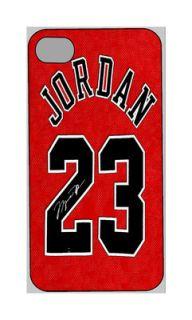 4S Personalized Plastic Case Michael Jordan Chicago Bulls New