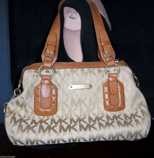 MICHAEL KORS Purse / MK Signature Handbag / Bag / Tote /