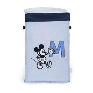 Disney Mickey Mouse Collapsible Laundry Hamper Toy Storage Boys