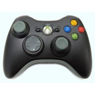 New Microsoft Xbox 360 Wireless Controller Black NSF 00001