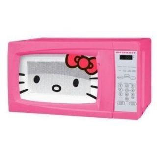 New Real Hello Kitty 700 Watt Pink Microwave Oven