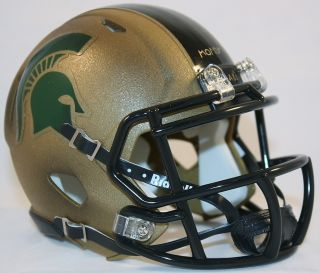 Michigan State Spartans Combat Revo Speed Mini Helmet
