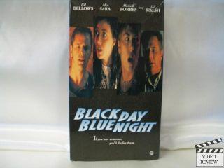 Black Day Blue Night VHS Gil Bellow MIA Sara 017153621433