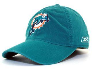 Miami Dolphins Aqua NFL Authentic Player Sideline Reebok Flex Hat Cap