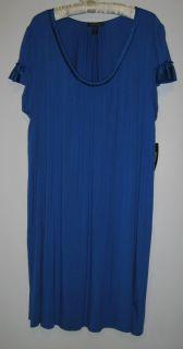 Carole Hochman Midnight Short Blue Nightgown Womens Plus Size 2X 3X