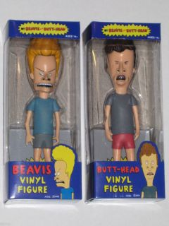 Action Figure Set of 2 Mike Judge MTV Cult Classic Funko New