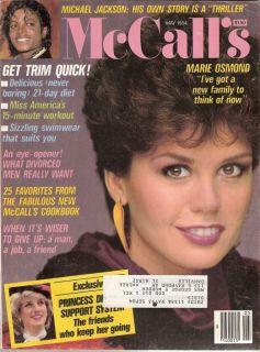 May 1984 Marie Osmond Michael Jackson Princess Diana Williams
